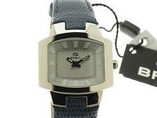 BREIL Style lady quarzo acciaio cinturino pelle blue referenza BW0072 new