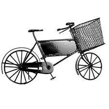 12th Negro Bicicleta De entrega Escala Miniatura Casa de Muñecas Etc.