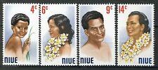 Niue 1971, Portrets set VF MNH