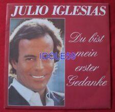 Vinyles singles Julio Iglesias