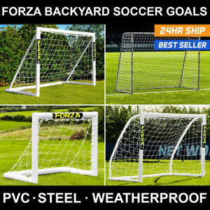 FORZA Backyard Soccer Goals   Kids Match & Training Goal Posts Indoor Outdoor