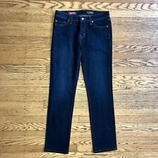 8d3d82087 Red Engine Womens Jeans Size 29 Dark Blue Mid Rise Straight Leg Stretch  Firefly