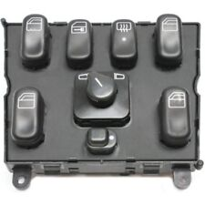 For 300CE 88-89, Front, Center Console Window Switch, Black, Plastic