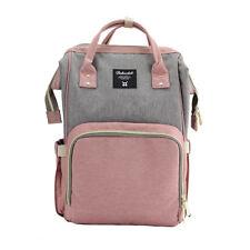 Fashion Large Capacity Mummy Maternity Nappy Diaper Bag Baby Bag Travel Backpack