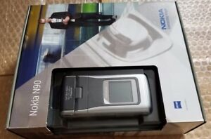BRAND NEW Nokia N90 Silver Black (unlocked) mobile phone RARE