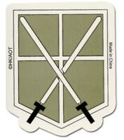 """*NEW* Attack on Titan Cadet Corps Large Patch by GE Animation 9/"""" x 7/"""""""