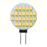 2X( G4 Bulb Spot Lamp Bulb 12V DC 24 LED 1W Warm White N3Q9)