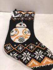 "Disney Star Wars BB8 Knit Christmas Stocking 18"""