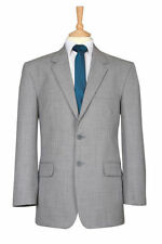 Wool Blend Patternless Suits for Men