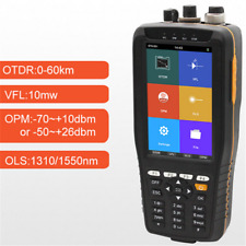 TM290 Optical Time Domain Reflectometer OTDR VFL OPM OLS Non-Touch Screen Englis