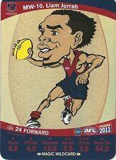 2011 Teamcoach Magic Wild-10 Liam Jurrah Melbourne