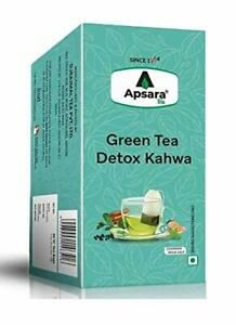 2 x Detox Kahwa Green Tea Immunity Boosting Antioxidants Properties 36 Tea Bags