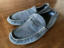 Mens Polo Ralph Lauren Shoes Loafers Sz 10.5 Navy