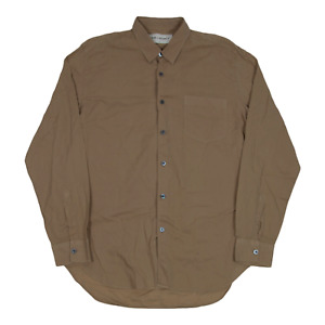 Our Legacy Lightweight Button Up Shirt 50 Large Beige
