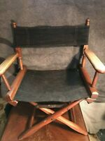 VTG Gold Medal furniture co. of Racine WI  CANVAS FOLDING DIRECTORS CHAIR