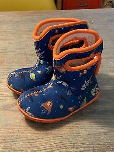 Baby Bogs Boots Kids Space UK7 EU24