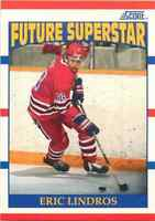 1990-91 Score Future Star Eric Lindros #440 Frsca