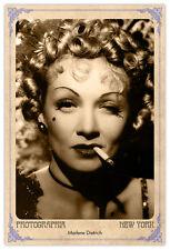Film Legend Marlene Dietrich Vintage Photograph A++ Reprint Cabinet Card