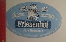 Pegatina/sticker: friesenhof bremen God Eten onu trago (07121676)