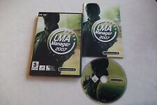 LMA MANAGER 2007 PC-DVD V.G.C. FAST POST COMPLETE ( management simulation game )