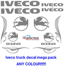 Iveco truck van decal MEGA PACK vinyl graphic stickers van decals