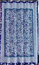Opalhouse Bandana Blue Fabric Shower Curtain