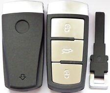 Radio Chiave Smartkey Alloggio + di Emergenza per VW Passat B6 3C B7 Cc Variant