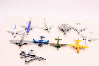 Lot of 11 Planes Vintage Diecast Airplanes-Jets- Military--Parts?