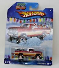HOT WHEELS 2009 HOLIDAY RODS TEXAS DRIVE 'EM OFF ROAD REAL RIDERS METAL/METAL