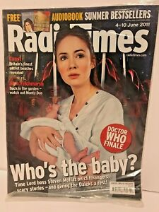 Doctor Who - Radio Times London - 4th - 10th June 2011