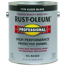 Rustoleum High Performance Protective Enamel, Gloss Black, 1 Gallon, 7779402
