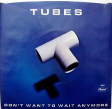 Tubes: Don't Want To Wait Anymore 45 RPM Picture Sleeve