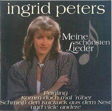 INGRID PETERS : MEINE SCHÖNSTEN LIEDER / CD (HERZKLANG/SONY MUSIC 1995)