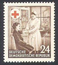 Germany (DDR) 1953 Red Cross/Medical/Health/Nurse/Nursing 1v (n27728)