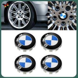 4x BMW Nabendeckel 68mm Nabenkappen Felgenkappen E60 E66 E70 E83 E90 F30 F10