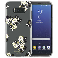Kate Spade New York Fitted Hard Shell Case For Galaxy S8+ Clear KSSA-035-FBCBS