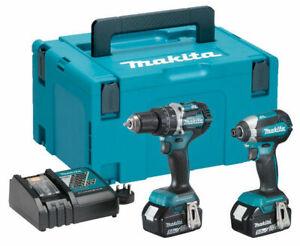 Makita DLX2180TJ 18v LXT Brushless Twin Pack 5.0Ah Kit
