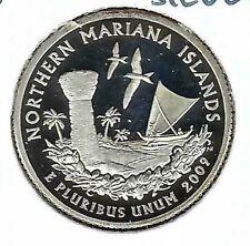 2009-S San Francisco Silver Proof Northern Marian Island 25C Quarter!