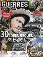 SCIENCE ET VIE GUERRE ET HISTOIRE N° 33 / 30 IDEES RECUES GUERRE DU PACIFIQUE