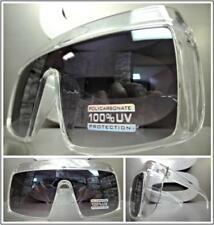 Neu Überdimensional Übertrieben Retro Schild Visier Style Sonnenbrille