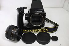 Bronica GS-1 SLR Film Camera AE Finder & Grip w/ Zenzanon-PG 100mm F3.5 Lens