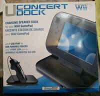 DREAMGEAR NINTENDO WII U CHARGING SPEAKER DOCK FOR WIIU GAMEPAD CONCERTDOCK D-16