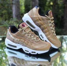 Nike Air Max 95 QS Metallic Gold Women's Size 8 White Black 814914-700