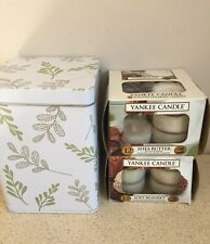 Yankee Candle Tea Lights 20 In Total (With Tin)
