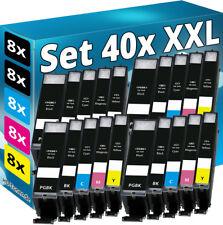 40x XL TINTE PATRONEN für CANON PIXMA MG5750 TS5050 MG5751 TS5051 MG5753 TS5053
