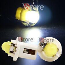 10 LED T5 B8.5D COB BIANCO SMD Lampade Lampadine Per Cruscotto Quadro Strumenti