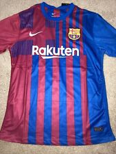 AUTHENTIC FC Barcelona 2021-22 Home Jersey Size ADULT XL NIKE