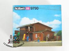KIBRI 9790 COBERTIXO EN BOIS avec BUREAU et garages - NEUF