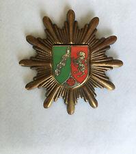 More details for vintage german police cap badge for westphalia.