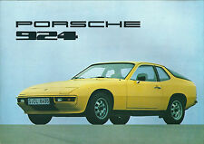 Catalogue Porsche 924 1976  Brochure prospekt catalog